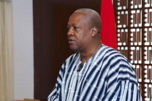 President Mahama delivering his last address as President of the Nation