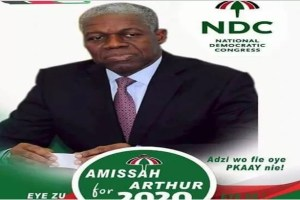 Amissah-Arthur campaign poster making the rounds