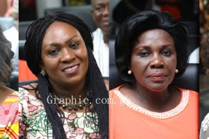 Some of the Nominated Female Ministers