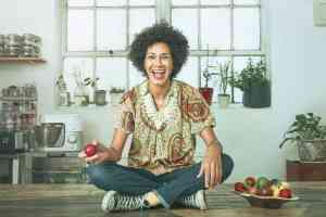 There's a growing community of African food entrepreneurs': Zoe Adjonyoh. Photograph: Phil Fisk for the Observer