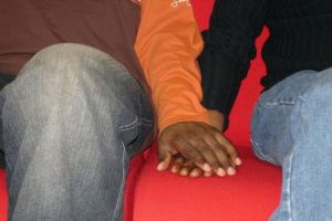 Displays of same-sex affection are illegal in Nigeria