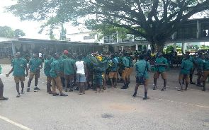 Students at Prempeh College