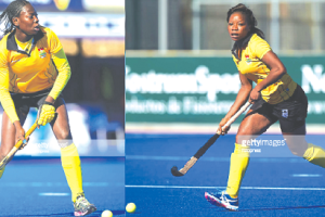 Nafisatu Umaru (left) and Cecilia Amoako will be in action for Ghana