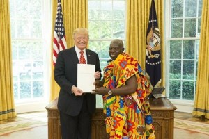 Dr Agyei Bawuah and President Trump