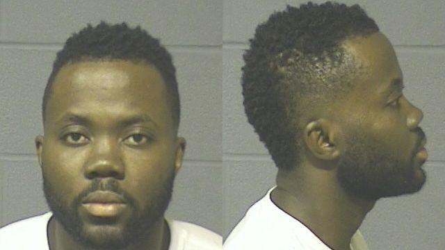 Kwadwo Osei-Wusu has been charged for second degree felony