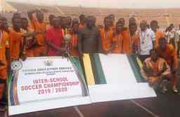 Kumasi High School celebrates their victory