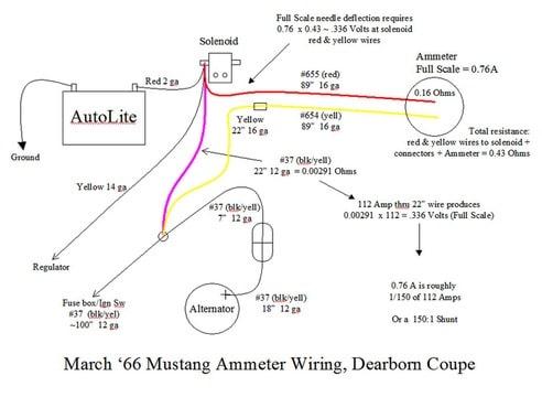 69 ammeter wiring