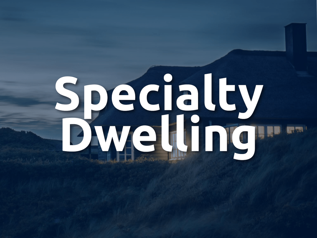 Specialty Dwelling Insurance Banner