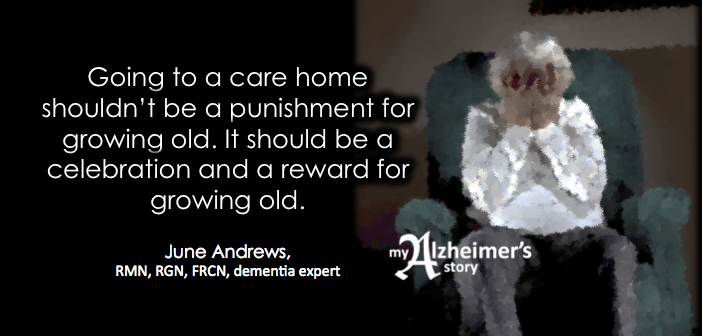 June Andrews care should be a reward