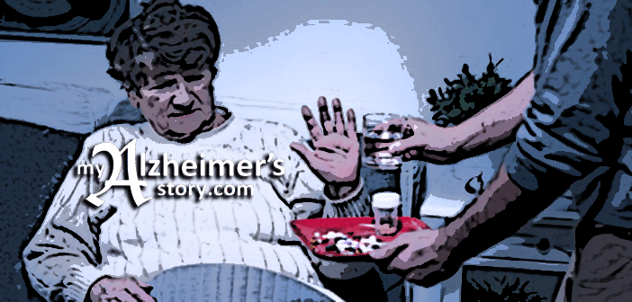 20 questions to ask when a person living with dementia declines to take her or his medication