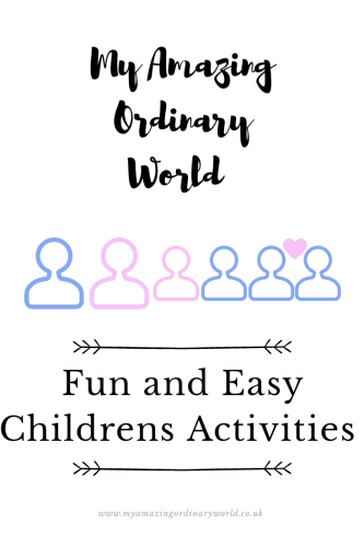 Post title: Fun and easy childrens activities.