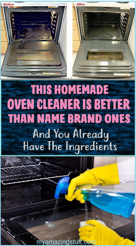 This Homemade Oven Cleaner Is Better Than Name Brand Ones, And You Already Have The Ingredients