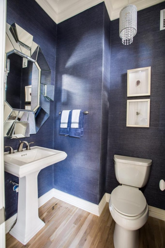 16 Half Bathrooms That Are Both Stylish And Functional Page 3 Of 3