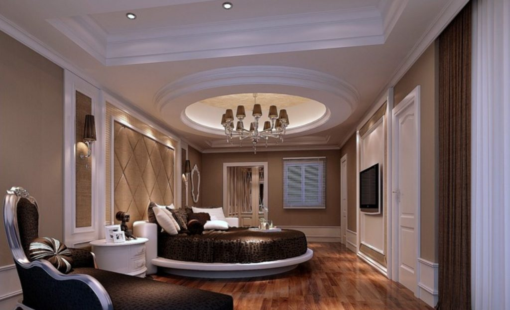 Round Beds For A More Luxurious Look Of The Bedroom