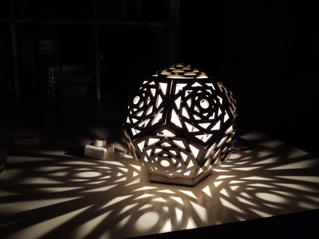 Creative And Eco Friendly Cardboard Lamps You Must See