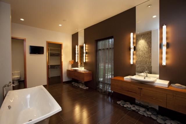 15 Serene Asian Bathrooms That Look Like Spas