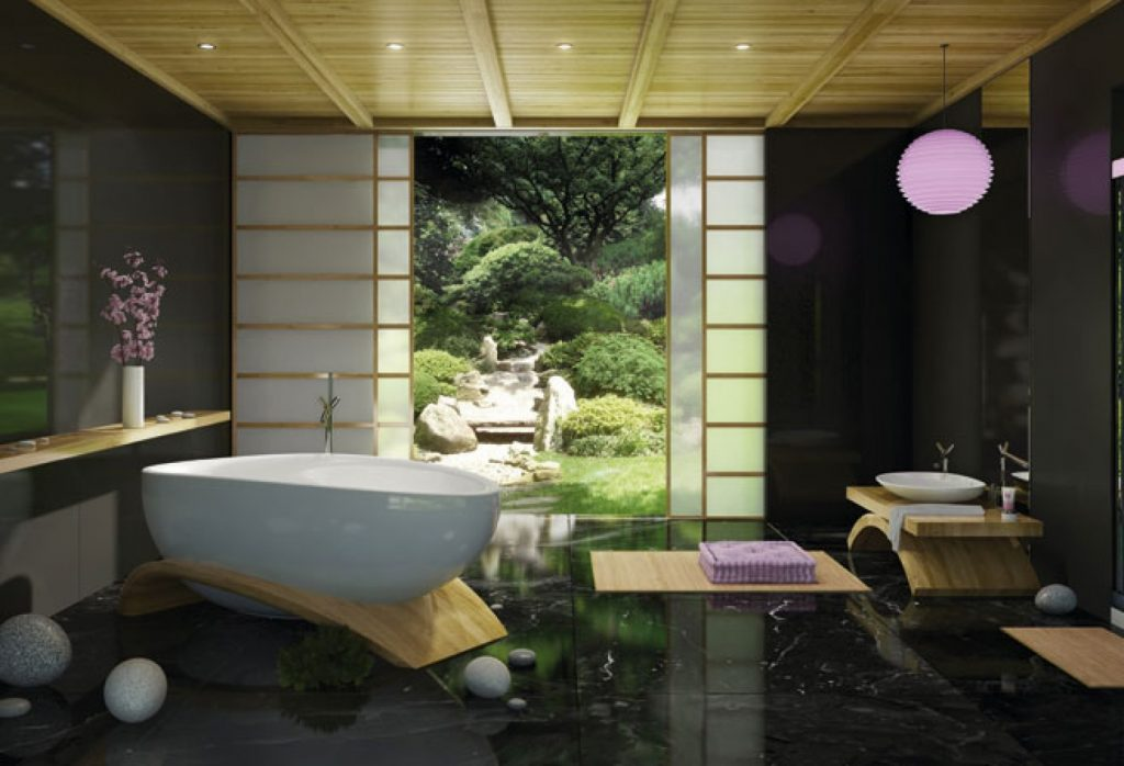 15 Serene Asian Bathrooms That Look Like Spas Page 2 Of 3