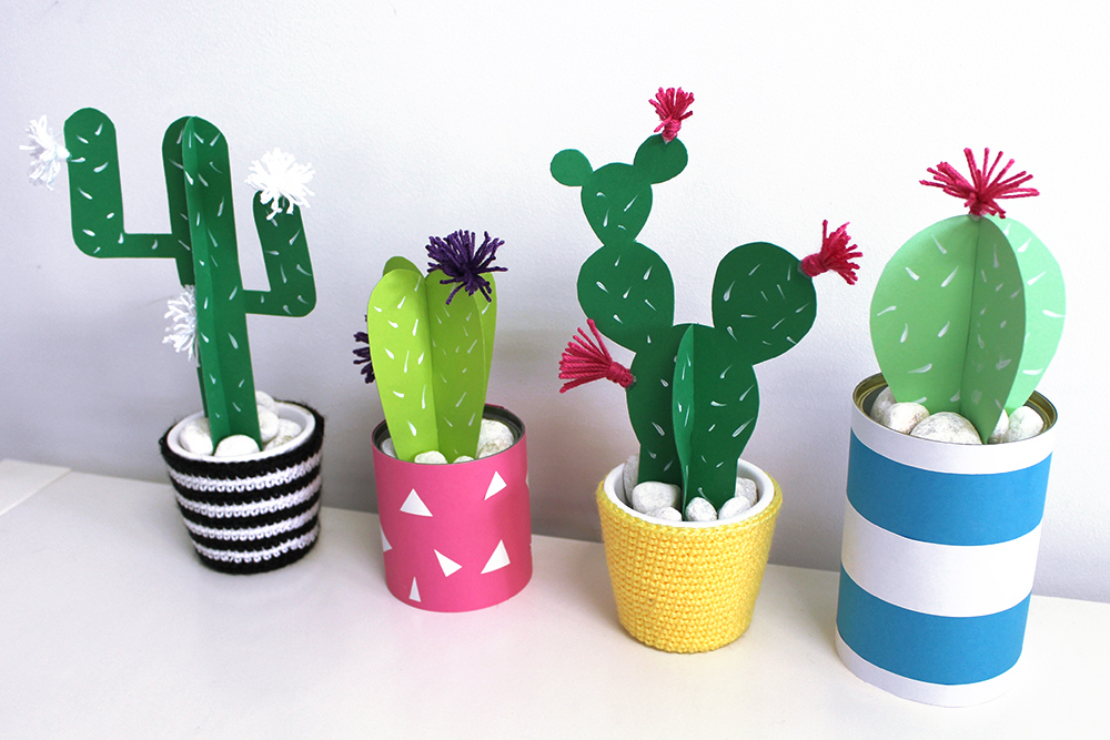 Diy Paper Cactus Is Cheap Decor That Looks Surprisingly