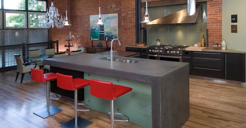 Concrete Kitchen Designs That Bring Contemporary And Sleek