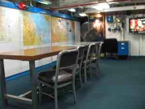 War Room of USS Midway