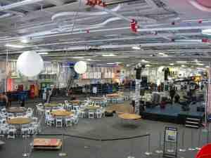 Hangar deck of the USS MIdway
