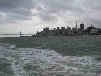 San Francisco as seen from Alcatraz