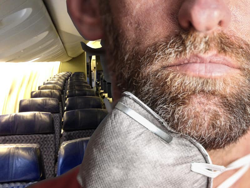 If you refuse to wear a mask on a plane