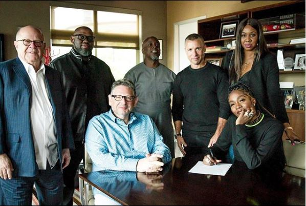 Nigerian Afrobeat Star Tiwa Savage Signs Global Recording Deal With