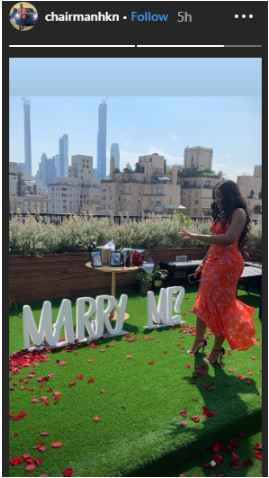 Image result for adewale adeleke propose to his girlfriend