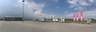 ... Billa-Parkplatz