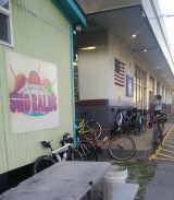 Bubby's Snoballs with Semi-Touch Cycling Club