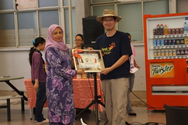 mini-Koo Swee Por, Iconic award on Neutering Program