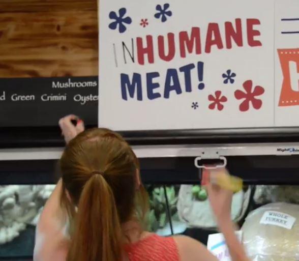 inhumane meat