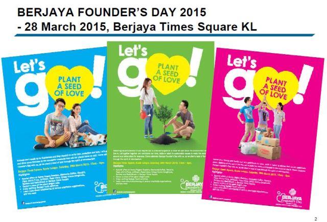 Berjaya Founder's Day