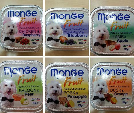 Monge Fruit for dogs