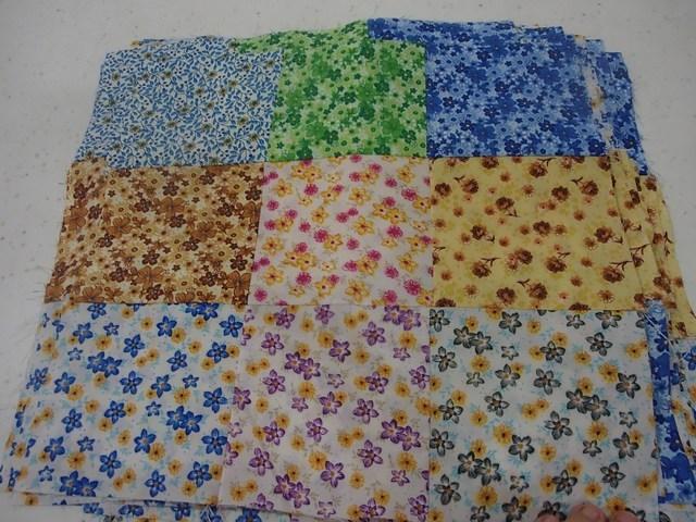 mini-9-patch floral
