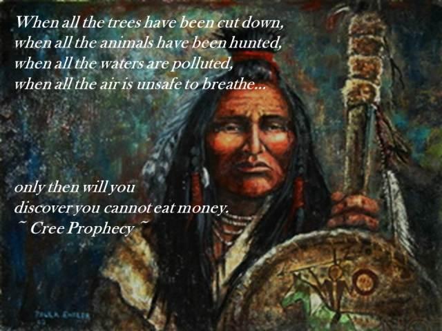 Cree prophecy