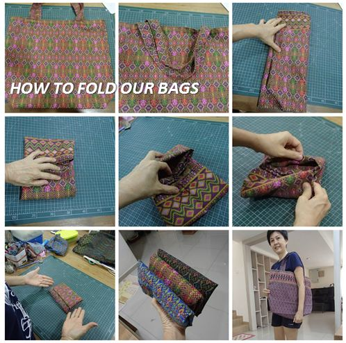 How to Fold our Bags