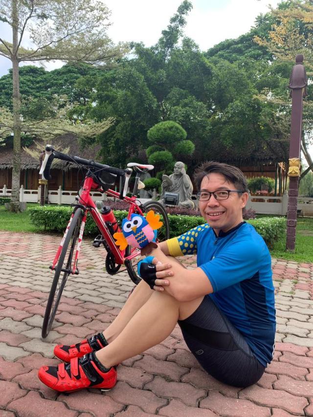 Super-Jon's 230km Bike Ride From Lumut To SJ (8) – Taking Mac On A 50km Ride To Jenjarom!