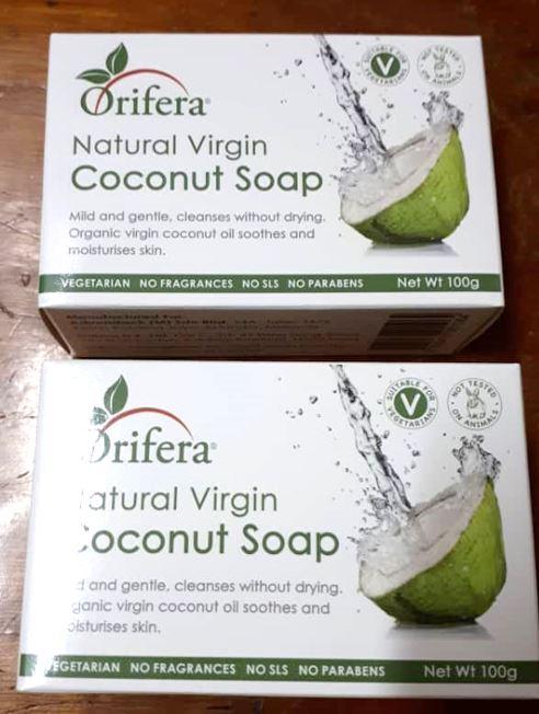 The Orifera Virgin Coconut Oil Soap (price Revision)