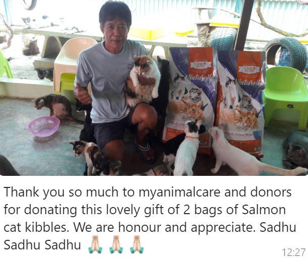 Double Charity Donation To Mun Mun Furry Sanctuary