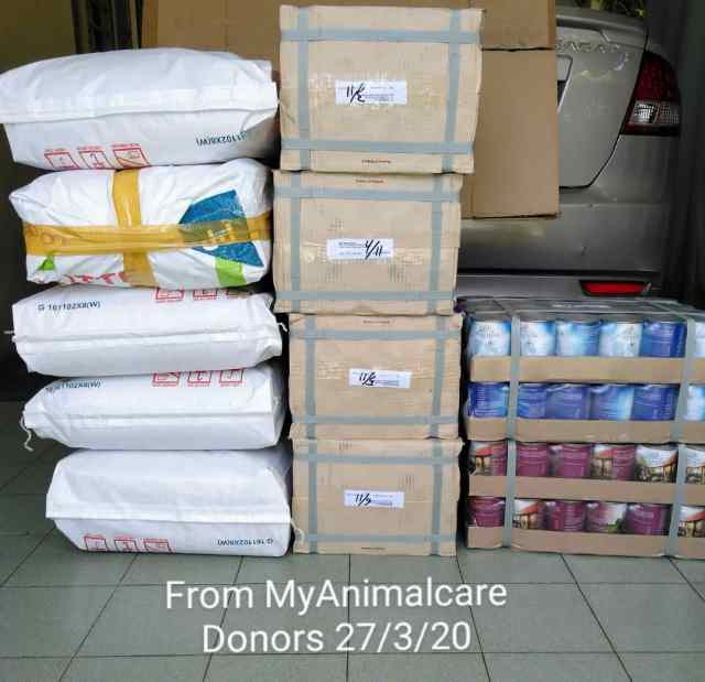 MCO-Relief Petfood Donation To Imm's Shelter