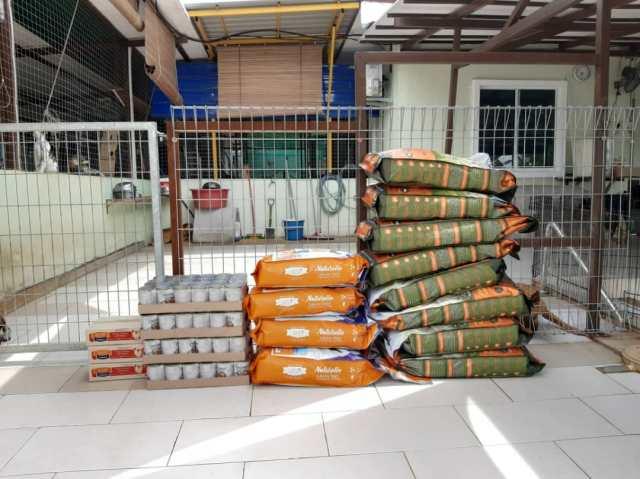MCO-Relief Petfood Donation To Mun Mun Furry Sanctuary
