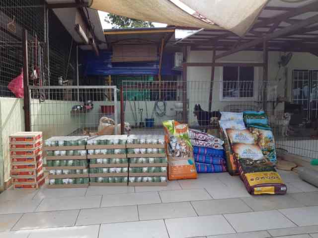 MCO-Relief Petfood Donation To Mun Mun Furry Sanctuary (and Updates On Rocky B!)