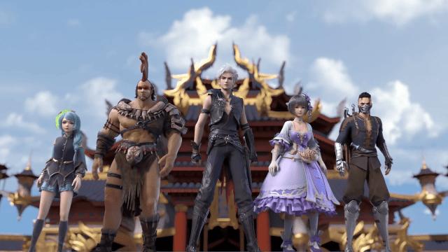 Reversal Dimension - The Rise Of AI (chinese anime) Episode 10 englishsub