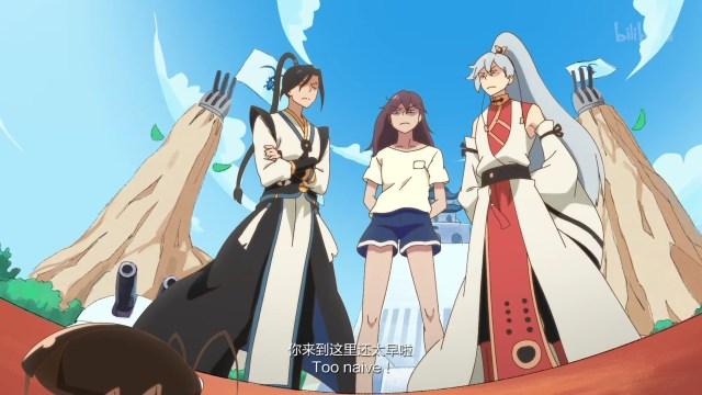 Hanhua Riji - God Troubles Me ( chinese anime donghua ) episode 09 english sub