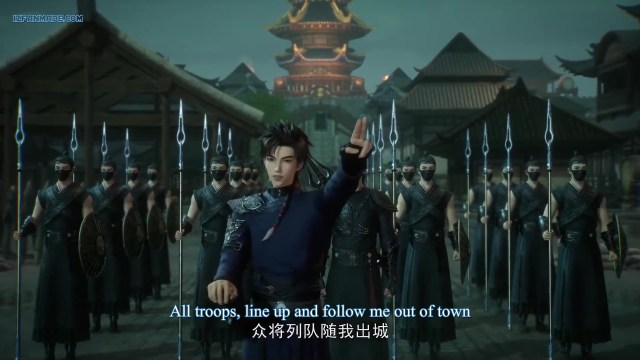 Wan Jie Chun Qiu-Spring and Autumn ( chinese anime donghua ) Episode 49 English Sub