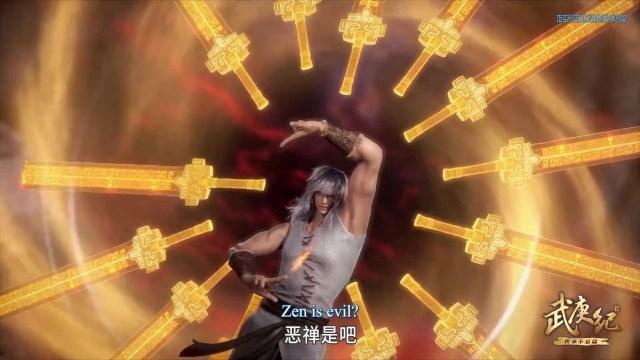 Wu Geng Ji - The Legend and the Hero (chinese anime donghua ) Season 3 Episode 40 english sub