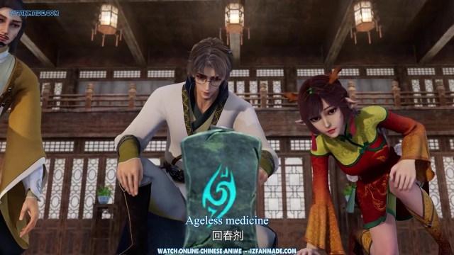 Yi Shijie Zhongyao Pu - Different World Medicine Shop ( chinese anime ) episode 37 english sub (1)