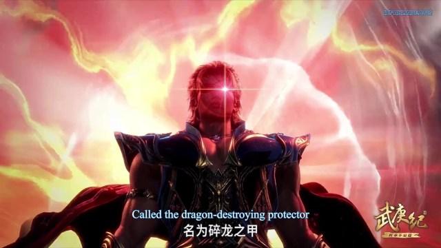 Wu Geng Ji - The Legend and the Hero (chinese anime donghua ) Season 3 Episode 42 english sub